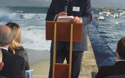 Assemblée Générale 2016, avec Ross McInnes, Président de Safran.