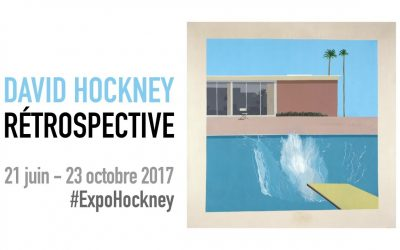 David Hockney, au Centre Pompidou, le jeudi 19 octobre 2017, à 20h.