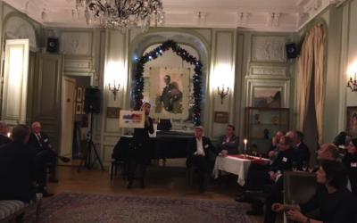 Soirée de Gala au Cercle Suédois avec Julia Maris DG DCI